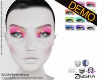 Zibska ~ Elodie Eyemakeup Demos [lelutka/genus/laq/catwa/omega/tattoo]