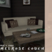 [teabug] melrose canvas couch