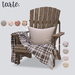 tarte. salem adirondack chair - PG