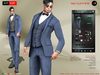 A&D Clothing - Suit -Kurt- Navy
