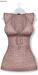GAWK! Rosy Brown Floral Long Top | BoM