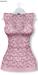 GAWK! Light Pink Floral Long Top | BoM