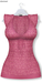 GAWK! Hot Pink Floral Long Top | BoM