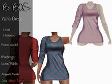 B BOS - Nuria Dress - Pink (Add me)