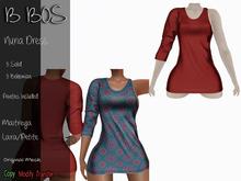 B BOS - Nuria Dress - Red (Add me)