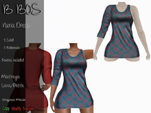 B BOS - Nuria Dress - Bohemian Blue (Add me)