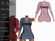 B BOS - Nuria Dress - Bohemian Pink (Add me)
