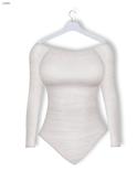 GAWK! White Simple Cotton Body   BoM