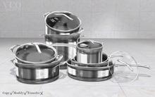 VEO// Set Pots and Pans
