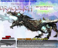 The CORE DRACOLICH ~ Dawn Kingdoms {Bento Mesh Avatar} v1.2.2