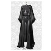 MAAI Klara robe * Lara&Legacy * Black