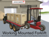 Working Mounted Forklift & Truck + GTFO! Ready