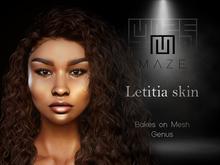 MAZE - Letitia skin - ST06 (BoM for Genus +body)