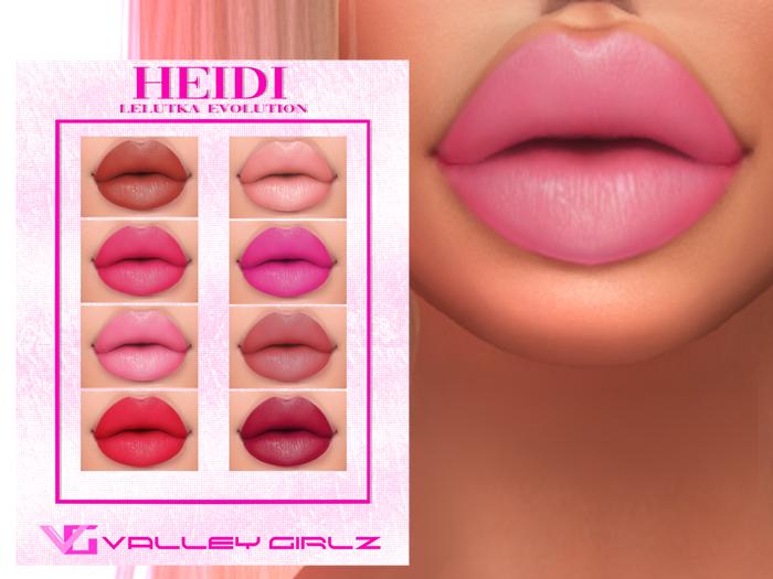 VG- Heidi Lips [Lelutka Evolution]