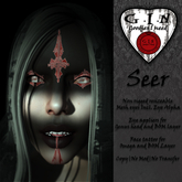 G.I.N - Seer Eyes & Face Tattoo *Add or Wear to unpack*