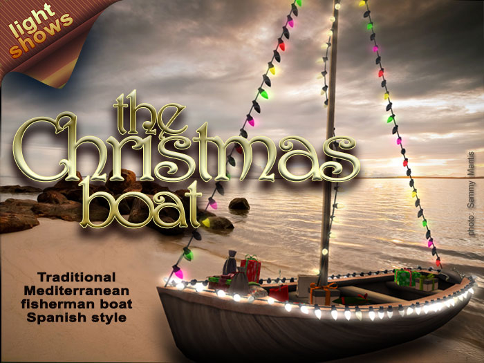The PARTY boat! With PROGRAMMABLE lights & Dance machine