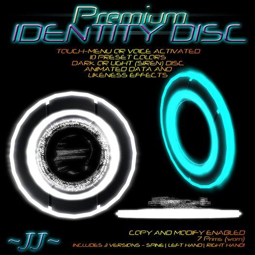 ~JJ~ Premium Identity Disc