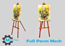 Mesh Place - Tripod Art Paint - Full Perm Mesh