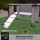 Bunny Hutch - prefect for your ozimal bunny