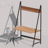 Oasis: Leaning desk with chair (GIFT)