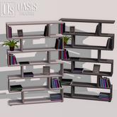 Oasis: Zigzag Bookshelf
