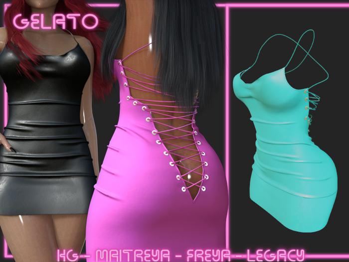 Gelato - Sutoringu Dress S -[LBU]