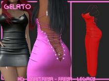 Gelato - Sutoringu Dress L -[RED]