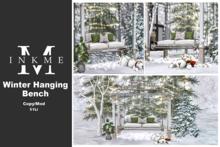 ::InkMe:: Winter Hanging Bench
