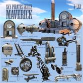 D-LAB MAVERICK  sky pirates (FULL SET)