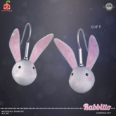 [Cubic Cherry] {Rabbitto} earrings GIFT