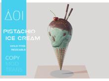 < AOI > Ice cream - Pistachio