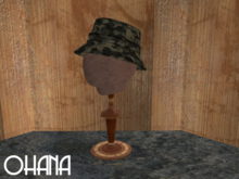 Ohana Bucket Hat Camo Black Olive (WEAR TO UNPACK)