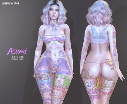 ((Mister Razzor)) Azumi Tattoo