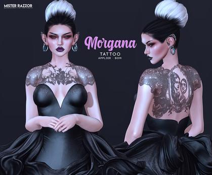 ((Mister Razzor)) Morgana Tattoo