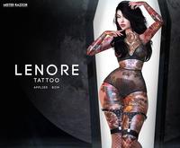 ((Mister Razzor)) Lenore Tattoo