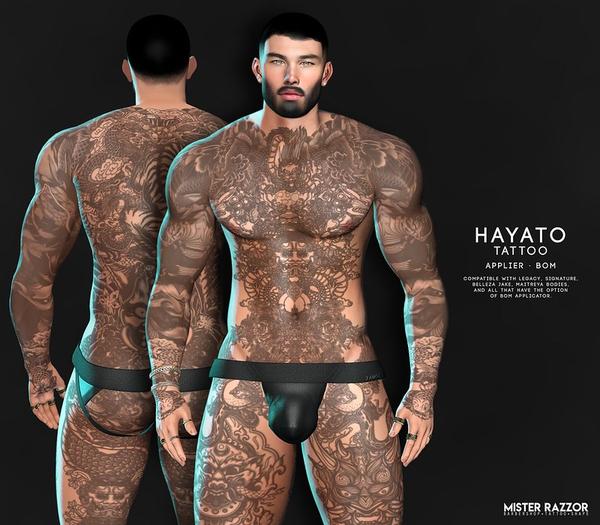 ((Mister Razzor)) Hayato Tattoo