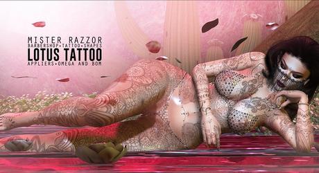 ((Mister Razzor)) Lotus Tattoo