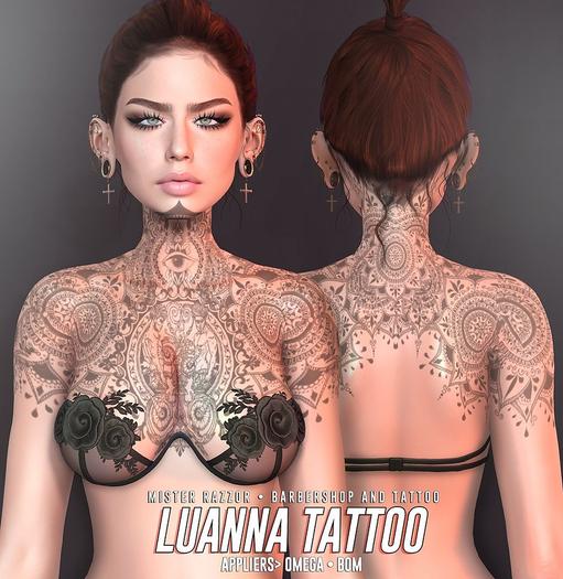 ((Mister Razzor)) Luanna Tattoo