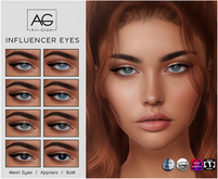 AG. Influencer Eyes Pack
