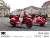Cartel vintage scooter 003 red