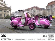 Atrezzo :: Vintage Scooter :: Pink :: {kokoia}