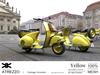 Atrezzo :: Vintage Scooter :: Yellow :: {kokoia}