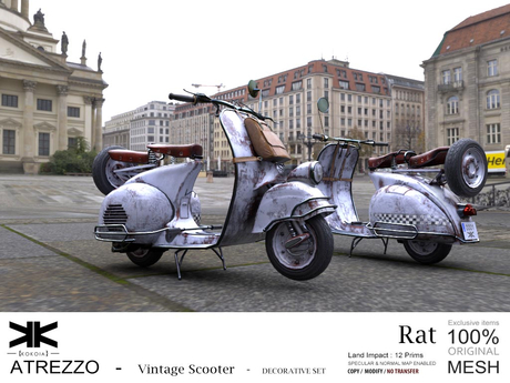 Atrezzo :: Vintage Scooter :: Rat :: {kokoia}