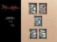 Moonley Inc. - Cocktail Frame Set 4