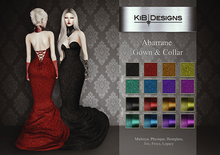 "KiB Designs - Abarrane Gown & Collar FATPACK ""Wear"""