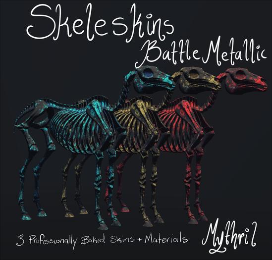 ~Mythril~ Skeleskins: Battle Metals