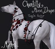 ~Mythril~ Chantilly Roses Drape: Teegle Standard (Avatar)