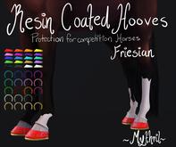 ~Mythril~ Resin Coated Hooves (Friesian)