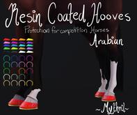 ~Mythril~ Resin Coated Hooves (Arabian)