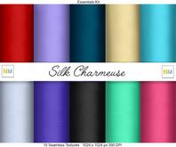 Silk Charmeuse Essentials Kit 10 Seamless Textures NM